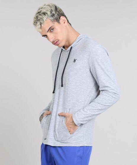 Camiseta-Masculina-Aguia-com-Capuz-Manga-Longa-Cinza-Mescla-9468144-Cinza_Mescla_1