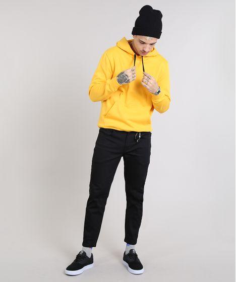 moletom amarelo