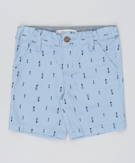 Bermuda-Infantil-Estampada-com-Flechas-Azul-Claro-9522319-Azul_Claro_1