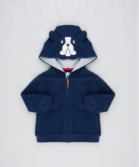 Blusao-Infantil-em-Fleece-com-Capuz-Bordado-de-Cachorro-Azul-Marinho-9358512-Azul_Marinho_1