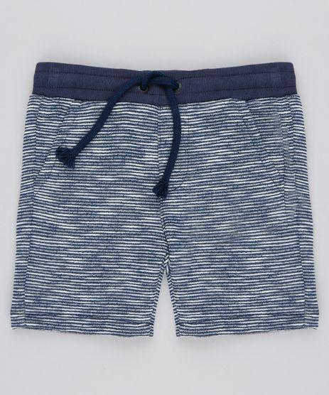 Bermuda-Infantil-em-Moletom-com-Bolsos-Azul-Marinho-9533717-Azul_Marinho_1