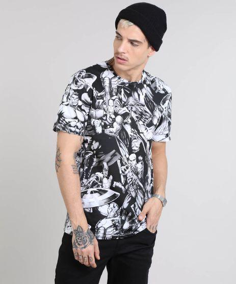 Camiseta-Masculina-Os-Vingadores-Gola-Careca-Manga-Curta-Preta-9464251-Preto_1