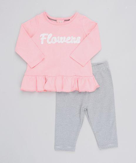 Conjunto-Infantil-Blusa--Flowers--Manga-Longa---Calca-Listrada-Azul-Marinho-9205064-Azul_Marinho_1