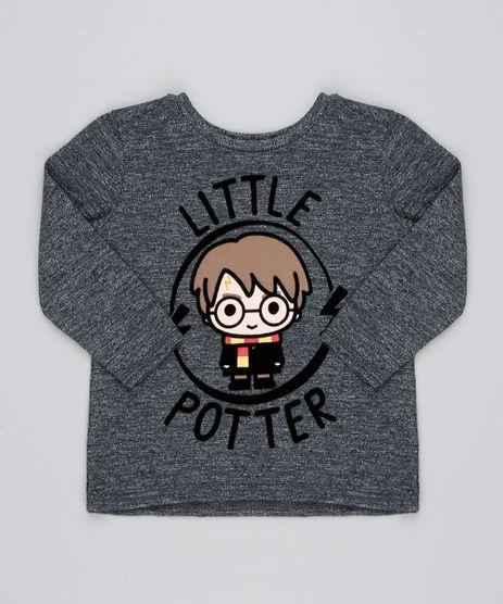 Camiseta-Infantil-Harry-Potter-Flocada-Manga-Longa-Cinza-Mescla-9531224-Cinza_Mescla_1