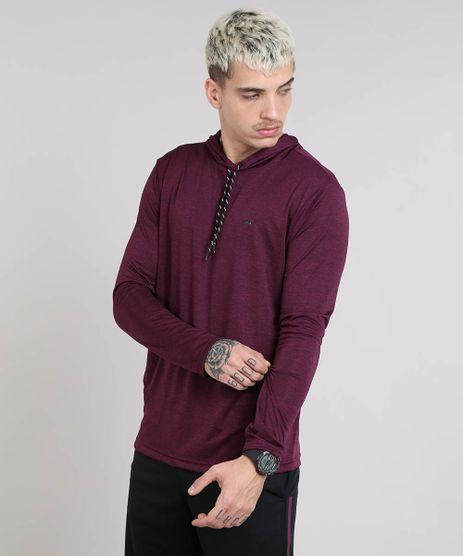 Camiseta-Masculina-Esportiva-Ace-com-Capuz-Manga-Longa-Vinho-9503049-Vinho_1