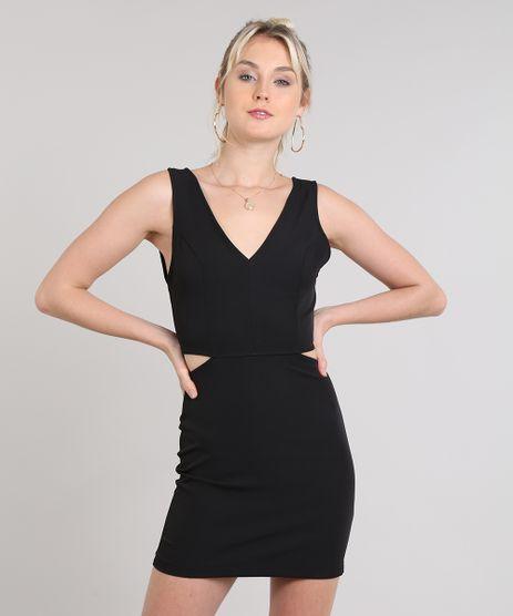 Vestido-Feminina-Com-Vazados-Laterais-Preto-9517257-Preto_1