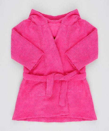 Roupao-Infantil-Atoalhado-com-Capuz-Bordado-Pink-9536122-Pink_1