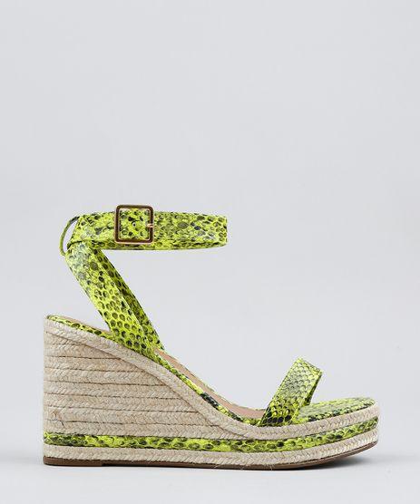 Sandalia-Feminina-Anabela-Animal-Print-Verde-Neon-9568623-Verde_Neon_1