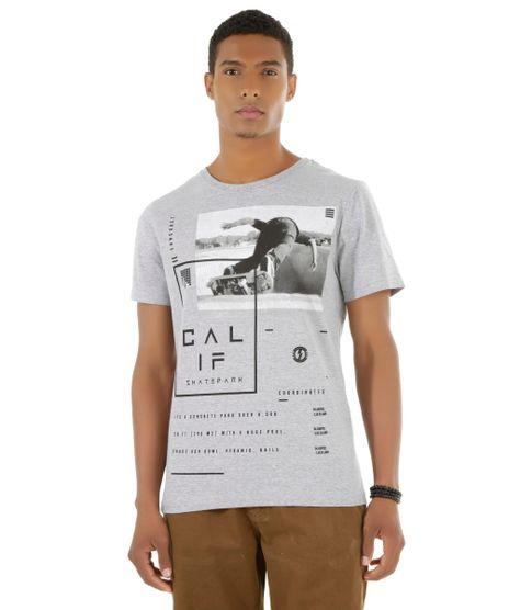 3420c9fa64c99 Camiseta--Calif-Skatepark--Cinza-Mescla-8487411-Cinza Mescla 1