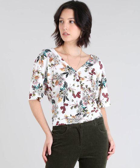 Blusa-Feminina-Transpassada-Estampada-Floral-Manga-Curta-Off-White-9505524-Off_White_1