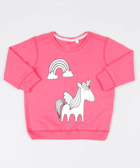 Blusao-Infantil-em-Moletom-Unicornio-com-Brilho-Rosa-9540134-Rosa_1
