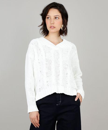 Sueter-Feminino-Em-Trico-De-Chenille-Manga-Longa-Off-White-9361273-Off_White_1