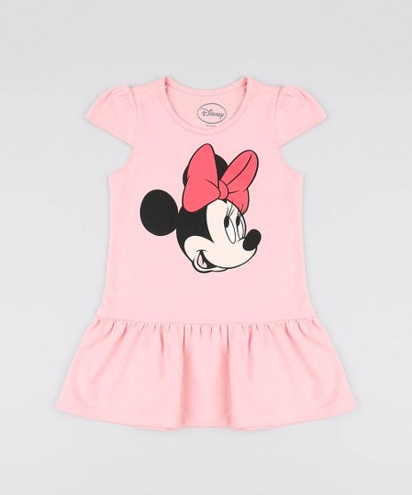 Vestido-Infantil-Minnie-Manga-Curta-Decote-Redondo-Rosa-Claro-9560855-Rosa_Claro_1