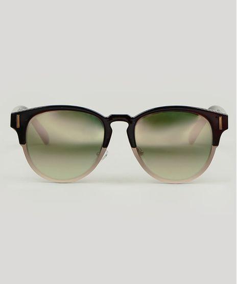 Oculos-de-Sol-Redondo-Masculino-Marrom-9590139-Marrom_1