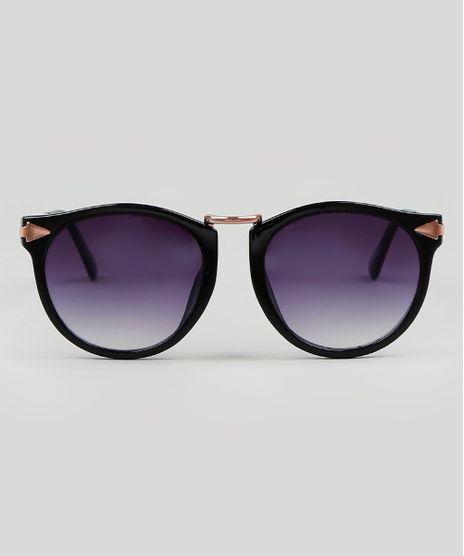 Oculos-de-Sol-Redondo-Masculino-Preto-9587941-Preto_1