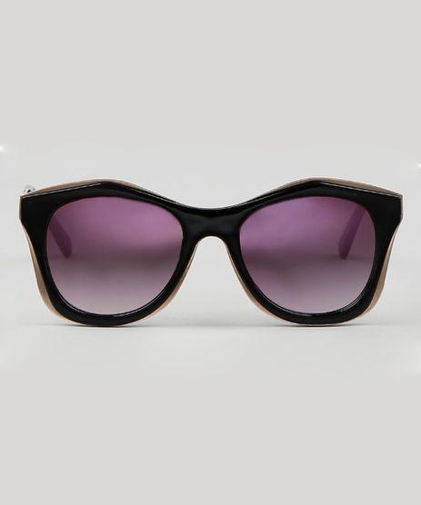 Oculos-de-Sol-Redondo-Masculino--Preto-9590142-Preto_1