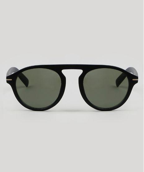 Oculos-de-Sol-Redondo-Masculino--Preto-9587987-Preto_1