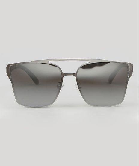 Oculos-de-Sol-Quadrado-Masculino--Prateado-9590170-Prateado_1