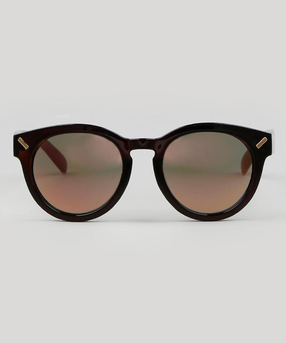 4830417f8 ... Oculos-de-Sol-Redondo-Masculino--Marrom-9590133-Marrom_1