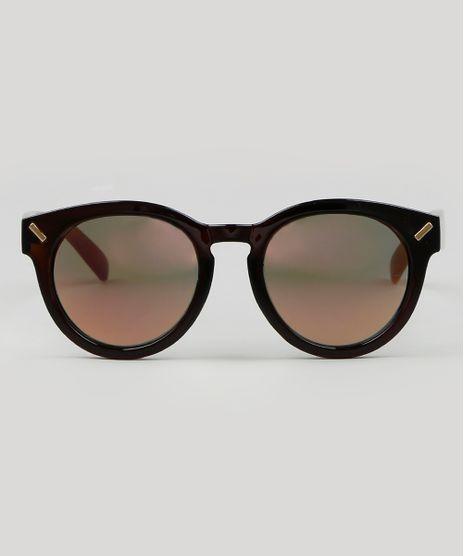 Oculos-de-Sol-Redondo-Masculino--Marrom-9590133-Marrom_1