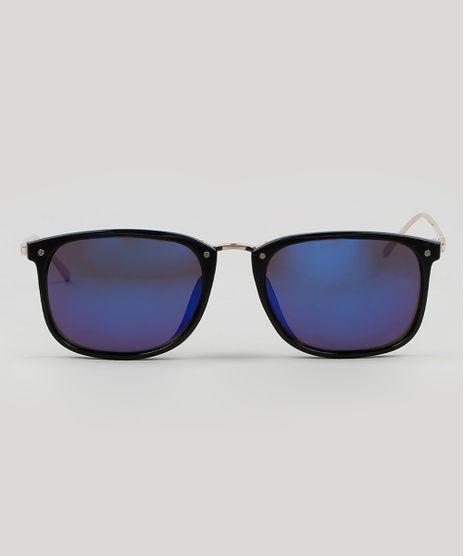 Oculos-de-Sol-Quadrado-Masculino--Preto-9590148-Preto_1
