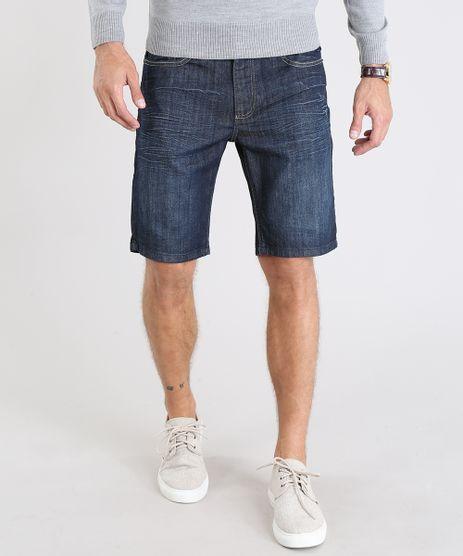 Bermuda-Jeans-Masculina-com-Pespontos-Azul-Escuro-9541117-Azul_Escuro_1
