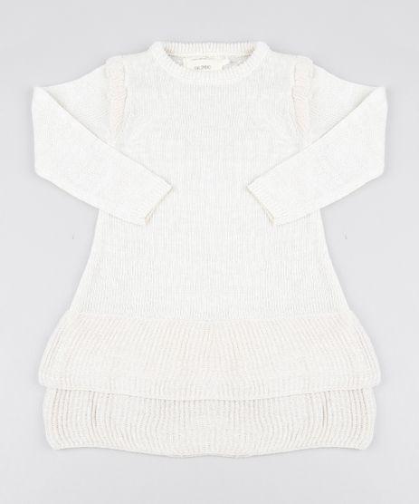 Vestido-Infantil-Em-Trico-Com-Fio-Lurex-Off-White-9431341-Off_White_1