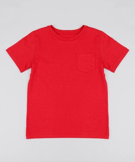 Camiseta-Infantil-Basica-com-Bolso-Manga-Curta-Gola-Careca-Vermelha-9567186-Vermelho_1