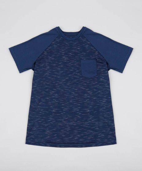 Camiseta-Infantil-Flame-Raglan-com-Bolso-Manga-Curta-Azul-Marinho-9553947-Azul_Marinho_1