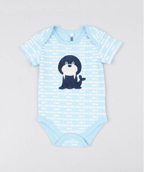 Body-Infantil-Leao-Marinho-Estampado-Peixes-Manga-Curta-Azul-Claro-9442348-Azul_Claro_1