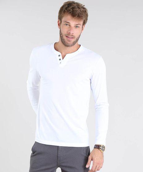 Camiseta-Masculina-Basica-Manga-Longa-Gola-Careca-Branca-9555248-Branco_1