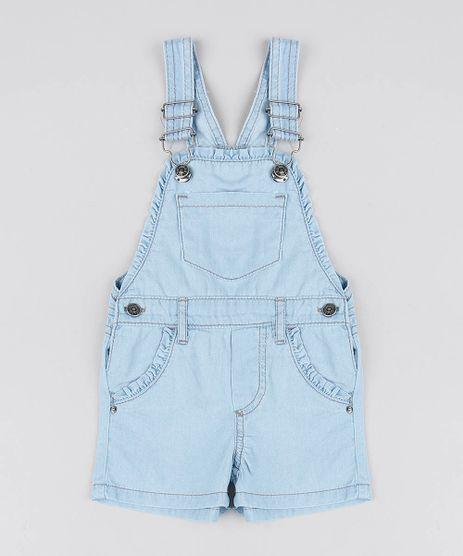 Jardineira-Jeans-Infantil-com-Babado-no-Bolso-Azul-Claro-9541810-Azul_Claro_1