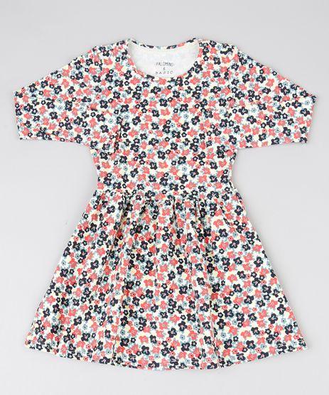 Vestido-Infantil-Estampado-Floral-Manga-Longa-Branco-9537289-Branco_1