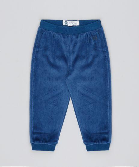 Calca-Infantil-em-Plush-Azul-Marinho-9195563-Azul_Marinho_1