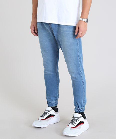 Calca-Jogger-Masculina-em-Jeans-Azul-Claro-9583521-Azul_Claro_1