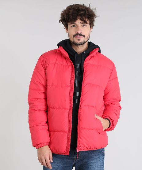 Jaqueta-Masculina-Puffer-com-Bolsos-Vermelha-9362546-Vermelho_1