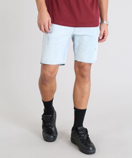 Bermuda-Jeans-Masculina-Destroyed-Azul-Claro-9534115-Azul_Claro_1