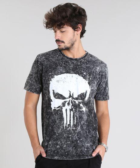 Camiseta-Masculina-O-Justiceiro-Manga-Curta-Gola-Careca-Preta-9525231-Preto_1