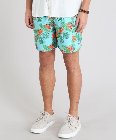 Short-Masculino-Estampado-Folhagens-Verde-Agua-9350583-Verde_Agua_1
