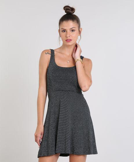 Vestido-Feminino-Evase-com-Lurex-Preto-9569114-Preto_1