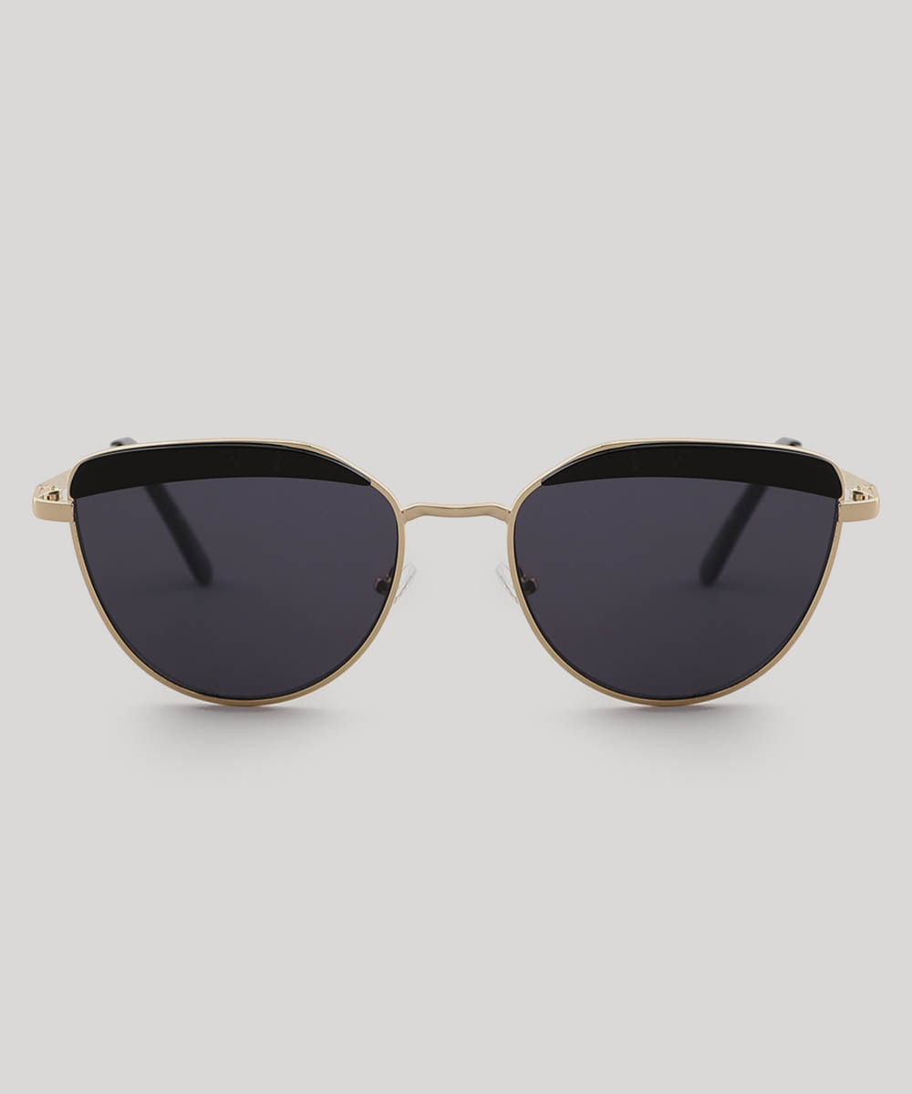 b3c2e8152 ... Oculos-de-Sol-Gatinho-Feminino-oneself-Dourado-9566245-