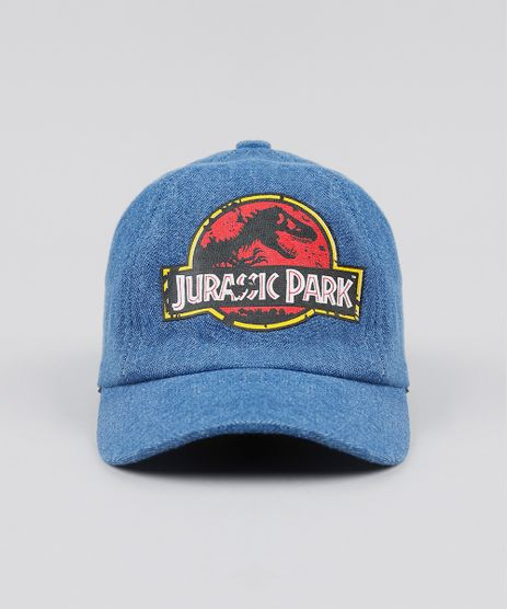 Bone-Infantil-Jurassic-Park-Azul-Medio-9537590-Azul_Medio_1