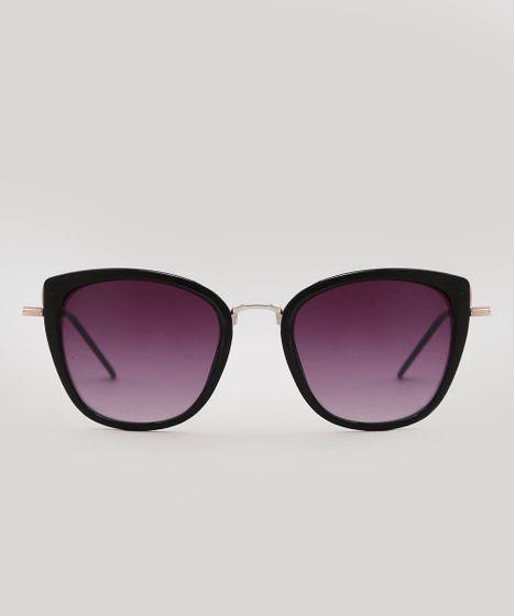 6b5b45e39 Oculos-de-Sol-Redondo-Feminino-oneself-Preto-9585627- ...