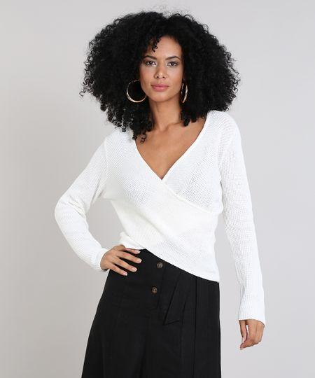 Blusa manga curta feminina em tricô de algodão com lurex