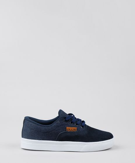 Tenis-Jeans-Infantil-Ollie-com-Suede-Azul-Escuro-8601843-Azul_Escuro_1