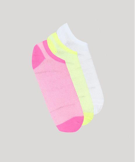 Kit-De-3-Meias-Femininas-Cano-Baixo-Neon-Multicor-9543673-Multicor_1