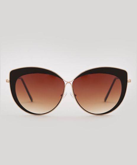 Oculos-de-Sol-Gatinho-Feminino-oneself-Dourado-9585652-Dourado_1