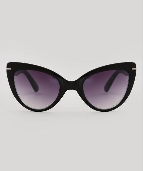 7625b00a5 Oculos-de-Sol-Gatinho-Feminino-oneself-Preto-9566248- ...