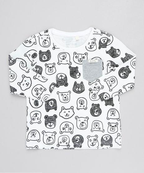 Camiseta-Infantil-Com-Ursinhos-Manga-Longa-Gola-Redondo-Branca-9530776-Branco_1