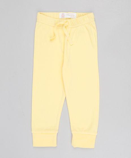 Calca-Infantil-Basica--Amarela-9442334-Amarelo_1